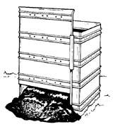 Plastic stationary bin